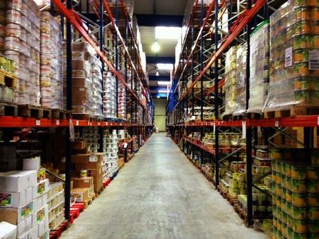 comida rica: Almacén de almacenaje