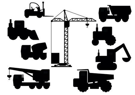 equipment: Set Of Construction Equipment