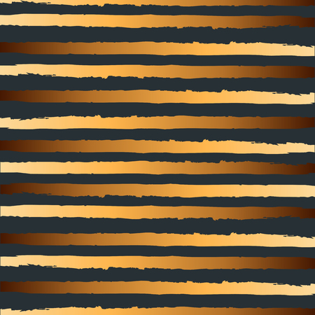 Pattern with golden stripes. Textured background for Birthday, party, holydays, Merry Christmas. Vector