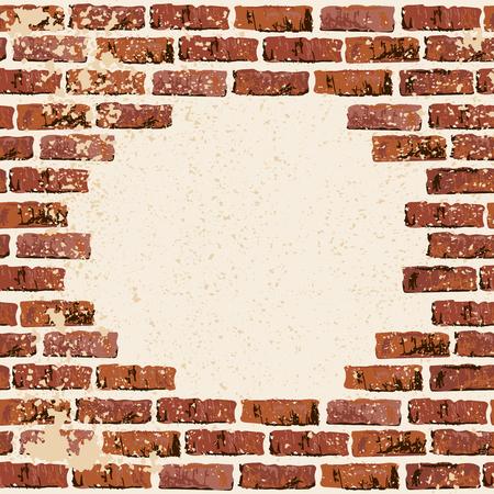 Backgrond-Vektor-Illustration Backgrond. Platz für Ihren Text. Grunge strukturierter Hintergrund für Banner, Schriftzüge, Graffiti. Vektorgrafik