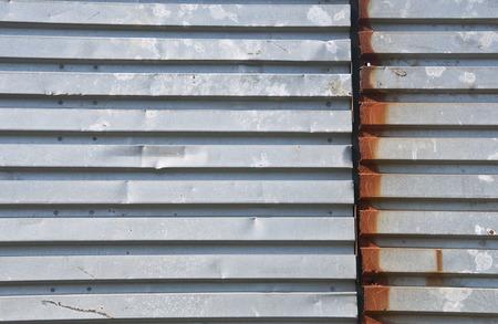 Rusty joint iron metal grunge background photo