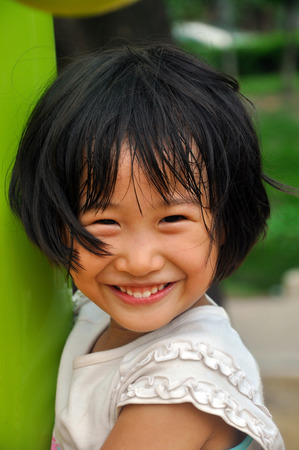 innocent: kid smile with innocent expression. purity of child.