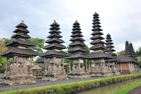 taman: Taman Ayun Temple in Mengwi (Bali, Indonesia) in cloudy sky Stock Photo