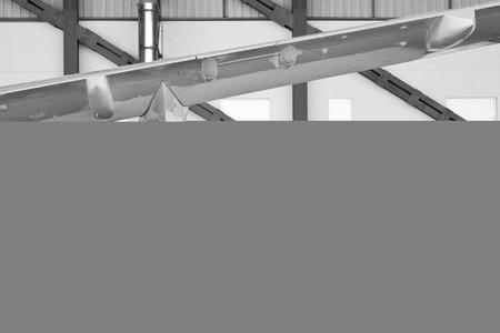 Engine of aircraft Reklamní fotografie - 40930479