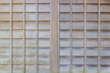 screen partition: Wood wall
