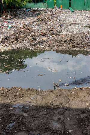 noise pollution: Water, Air Pollution of slum