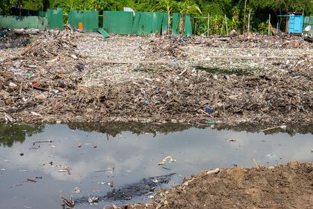 hazardous waste: Water, Air Pollution of slum
