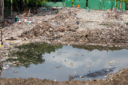 Water, Air Pollution of slum