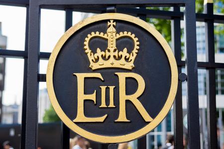 regina: Symbol of Queen Elizabeth  Elizabeth II Regina