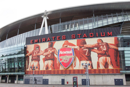 arsenał: Arsenal Football Club London, UK : Arsenal Football Club Jul 6, 2011. Visit to Arsenal Football Club