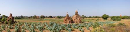 Pagoda in front of Sulamani Temple at Bagan Myanmar