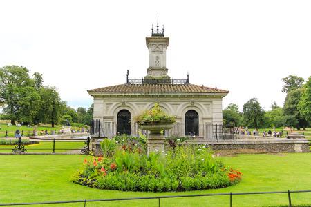 Italian garden in Kensington Gardens Stok Fotoğraf
