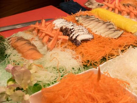 Japan Buffet food and dessert Stok Fotoğraf