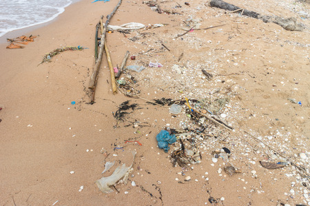 Dirty Beach Stok Fotoğraf