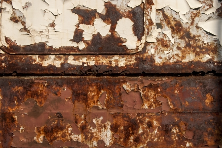 Old rusty abandoned railway wagon side as background Stock Photo - 21571312