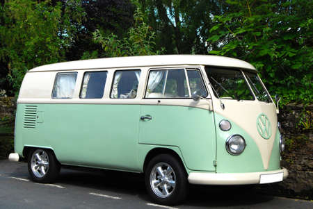 Volkswagen Transporter van from 60 s years of 20th century