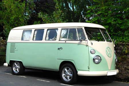 transporter: Volkswagen Transporter van from 60 s years of 20th century