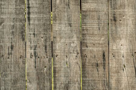 Old weathered wooden boards surface closeup as grunge background