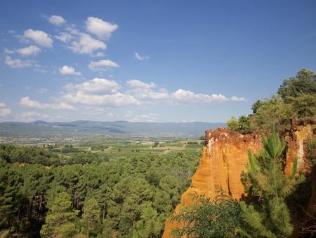 roussillon: Roussillon ocher cliffs