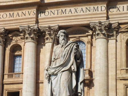 Picture from Saint Peter Basilica, Rome, Vatican photo
