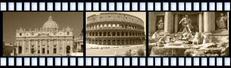 Roman filmstrip