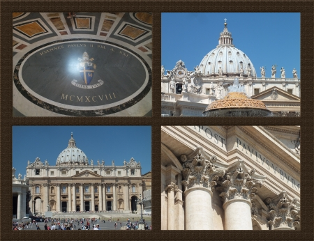 Picture from Saint Peters Basilica, Rome, Vatican Stock Photo - 14987008