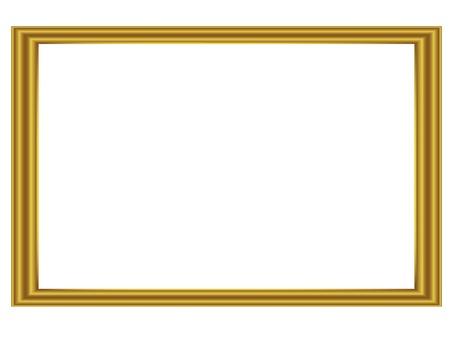 gold border: Framework for pictures and for other artworks