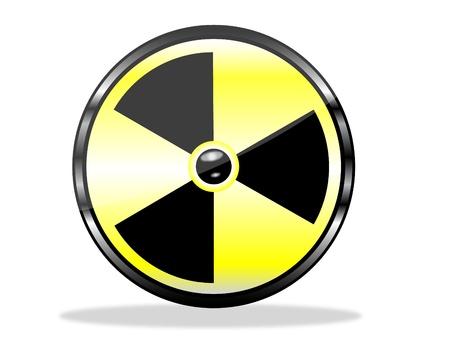 Garde contre les rayonnements Banque d'images - 15327039