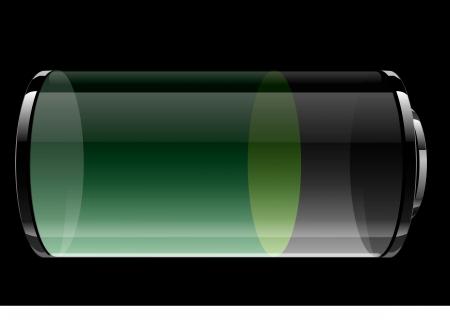 Transparent battery Stock Vector - 15406852