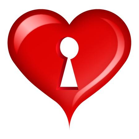 keys isolated: Coraz�n