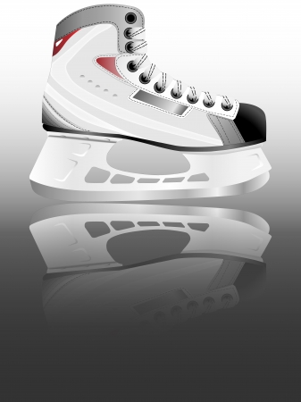 Ice hockey skate Stock Vector - 16198157