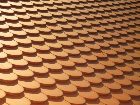 Tiled roof Stock Photo - 16198047