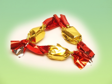 Hungarian Christmas sweet candy that is made by chocolate Stock Photo - 16887264