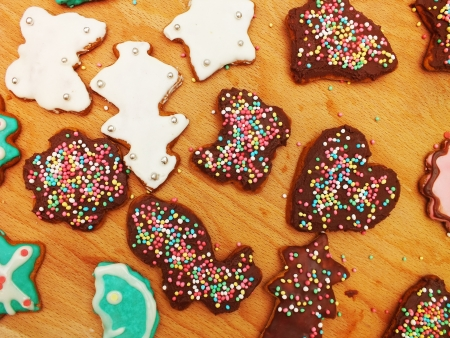 sugarcoat: Gingerbread biscuit for Christmas - traditional cake