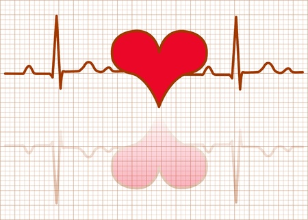 Heart monitor-Vector Stock Vector - 17997871