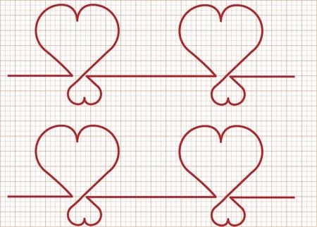 Heart monitor-Vector Stock Vector - 17997857