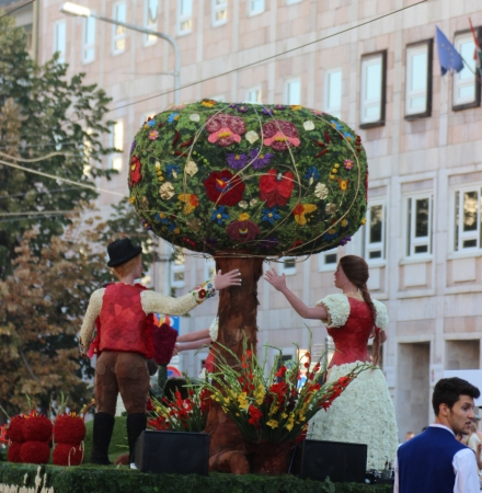 National holiday celebrations on the 20th August the Debrecen Flower Carnival
