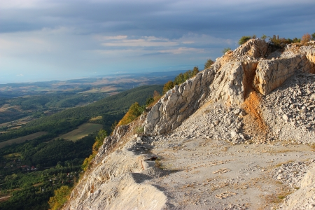dragline: Hungarian landscape from a quarry - landscape photography