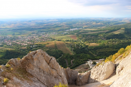 Hungarian landscape from a quarry - landscape photography