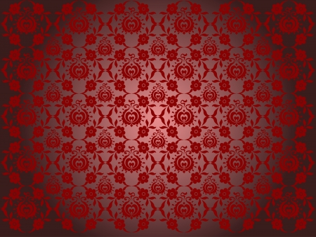 Hungarian seamless pattern - vector illustration Vector