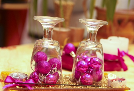 Creative decoration on the table - still life photography