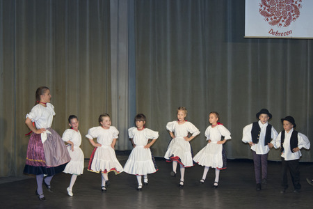 Hungarian folk dancers - event photography