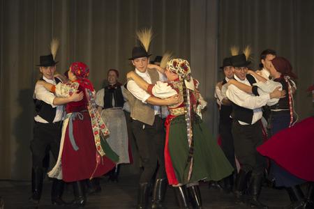 Hungarian folk dancers - event photography Banco de Imagens - 29151661