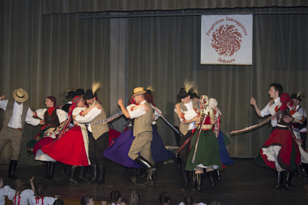 Hungarian folk dancers - event photography