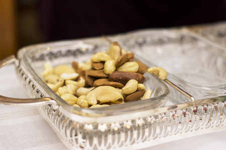 food photography: Nut mix on the table - food photography