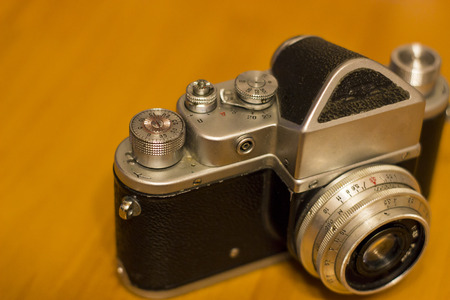 Old retro camera - object photography