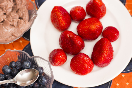 Berries on the table - food photography