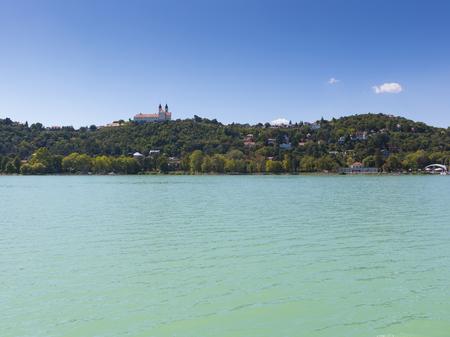 Landscape with Abbey of Tihany, Hungary, Balaton