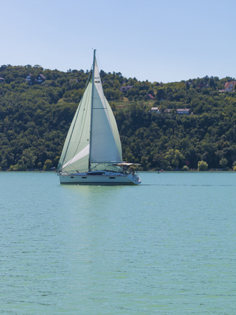 Sailing on the Balaton, Hungary - Outdoor photography