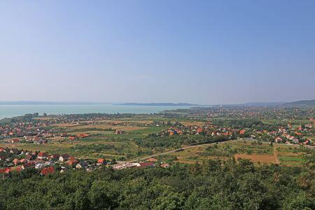Landscape photorgraphy, Lake, Balaton, Hungary Banco de Imagens - 149214762
